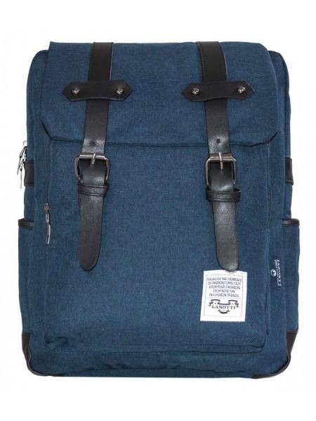 Рюкзак женский Lanotti 6051/Синий