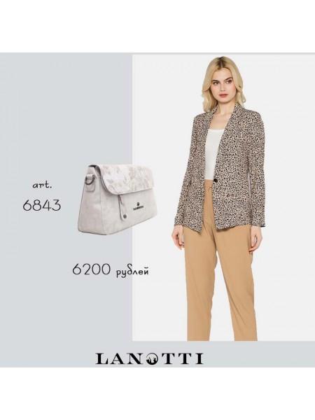 Образ №8 Cумка женская Lanotti 6843P/Жемчужые блики