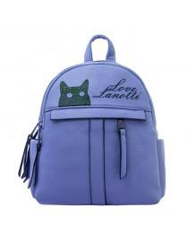 Рюкзак женский Lanotti 7711-1/Голубой