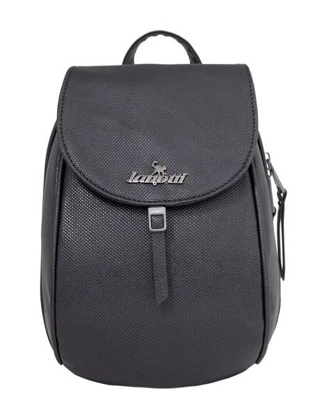 Рюкзак женский Lanotti 8963 Рогожка/Черный