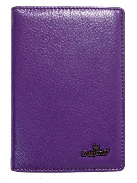 Обложка на паспорт Lanotti 6391F/Глубоко лиловый