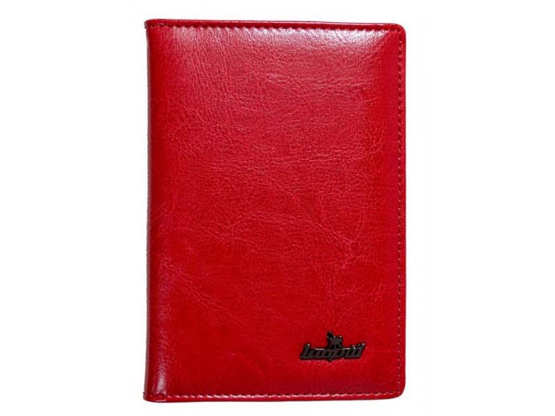 Обложка на паспорт Lanotti 6391F/Красный