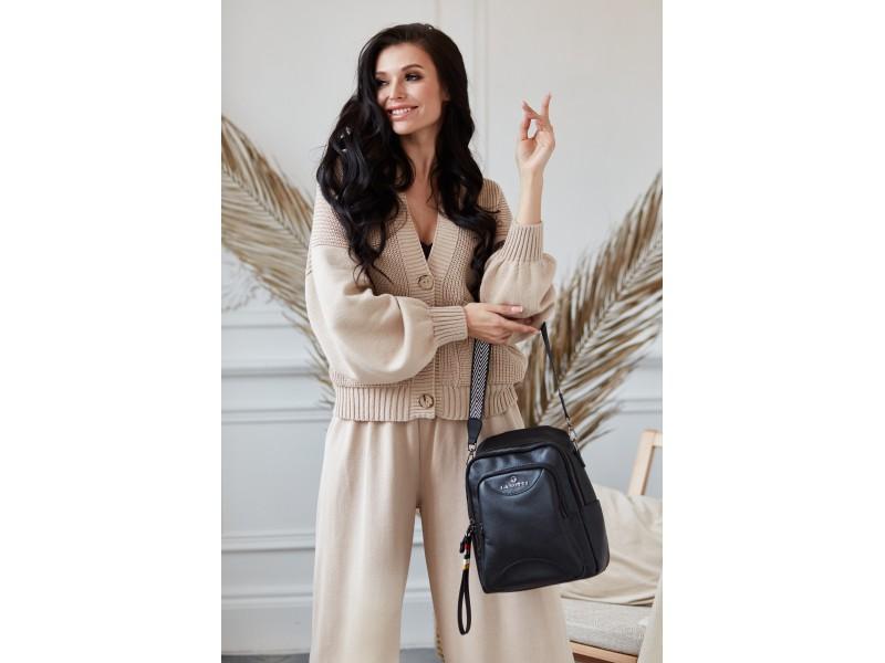 Рюкзак женский Lanotti 6185/Черный