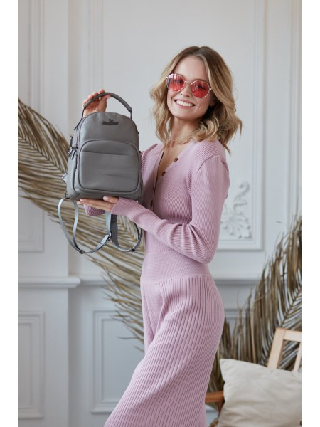 Рюкзак женский Lanotti 6159/Серый
