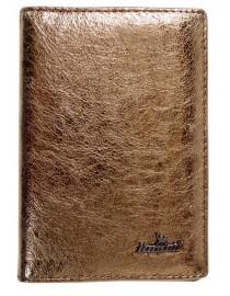 Обложка на паспорт Lanotti 6391F/Золотой шик