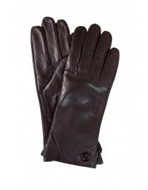 Перчатки женские Lanotti PK-LW0830/Темно_Коричневые