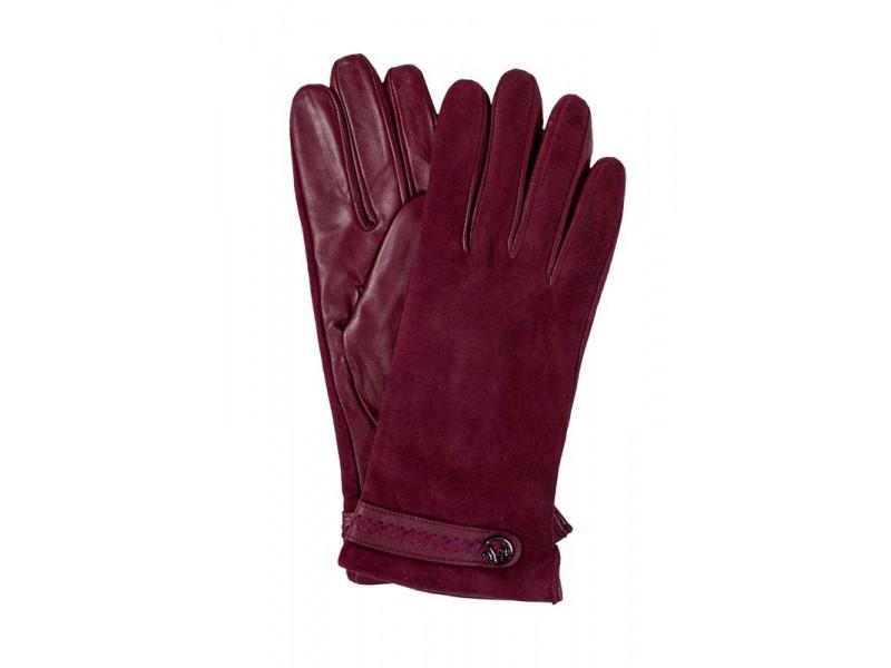 Перчатки женские Lanotti PK-LW0830Z_бордовый